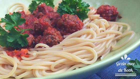Spaghetti met verborgen groenten